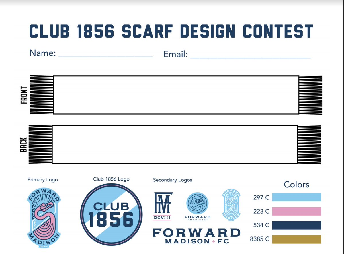 Forward Madison Fc On Twitter Get Your Submissions In