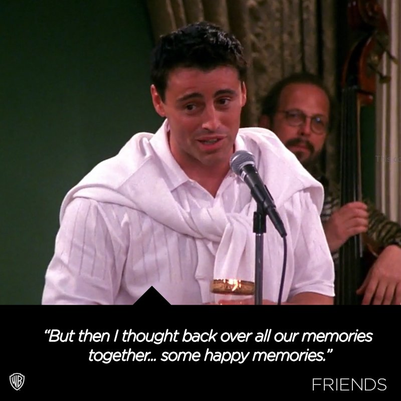 Joey gives the best toasts.