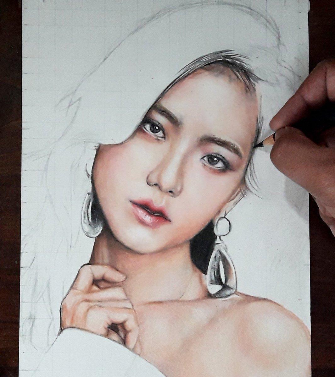 JISOOOOO  My First drawing of 2019 #JISOO #jisooblackpink #BLACKPINK #MissKoreaJisooDay #BLACKPINKINTHAIAREA #jennie #ROSÉ #LISA #Drawing #art #artist #black #kpopfanart #kpop <br>http://pic.twitter.com/0hZ8TE1KVi