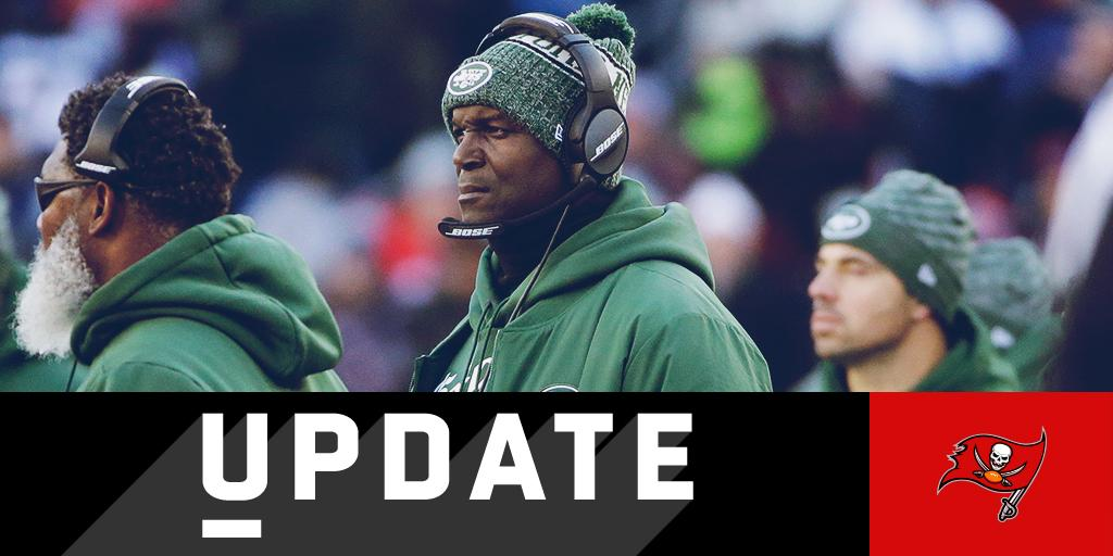 .@Buccaneers add former Jets coach Todd Bowles as new DC: https://t.co/QWUrHtoUA0 (via @MikeGarafolo) https://t.co/pjJx5DMxyn