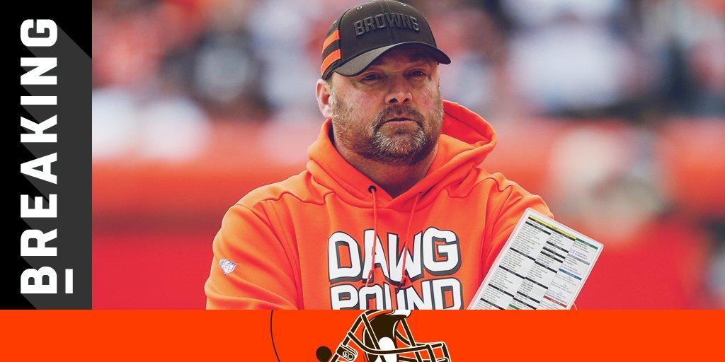 .@Browns promote OC Freddie Kitchens to head coach: https://t.co/IhbzknE4EV (via @RapSheet) https://t.co/ly4Rcb9QlC