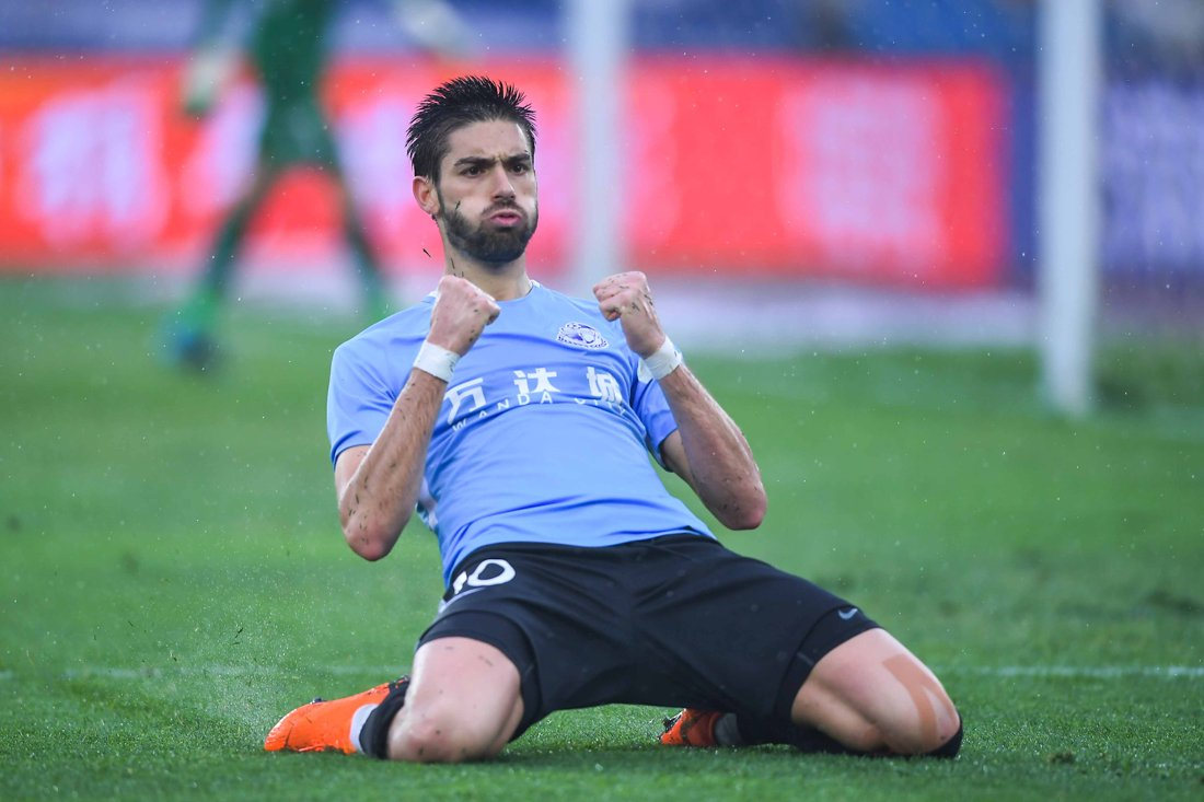 Image result for yannick carrasco dalian yifang