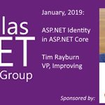 CoreLogic is sponsoring the Dallas .NET Users Group on Jan 10. Join us as Tim Rayburn delivers a deep dive into https://t.co/uVbMNa2SRD Identity with https://t.co/uVbMNa2SRD Core! Learn how to integrate it with social/community identity providers: https://t.co/HuqVr6JOr2
