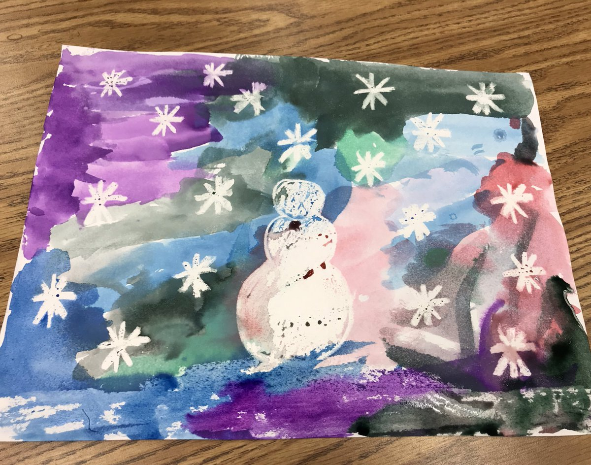 """Magic"" winter watercolor paintings 🎨 ❄️ ⛄️ <a target='_blank' href='http://search.twitter.com/search?q=KWBpride'><a target='_blank' href='https://twitter.com/hashtag/KWBpride?src=hash'>#KWBpride</a></a> <a target='_blank' href='http://twitter.com/BarrettAPS'>@BarrettAPS</a> <a target='_blank' href='http://twitter.com/APS_EarlyChild'>@APS_EarlyChild</a> <a target='_blank' href='http://twitter.com/APSVirginia'>@APSVirginia</a> <a target='_blank' href='https://t.co/3k097s4MPc'>https://t.co/3k097s4MPc</a>"