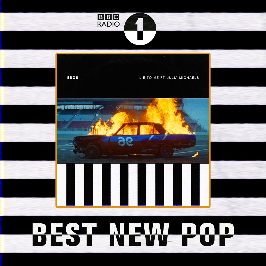LIE TO ME FT. @juliamichaels // BEST NEW POP. THANK YOU @BBCR1
