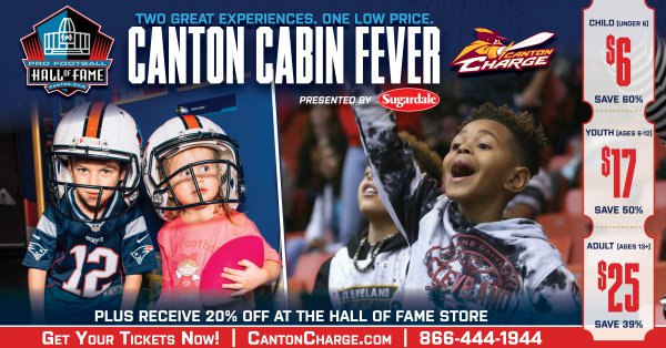 c05df297d1d0d Plus receive 20% off in the Hall of Fame store! Learn More:  http://bit.ly/HOFCantonCabinFever …pic.twitter.com/WUnJFObY6s