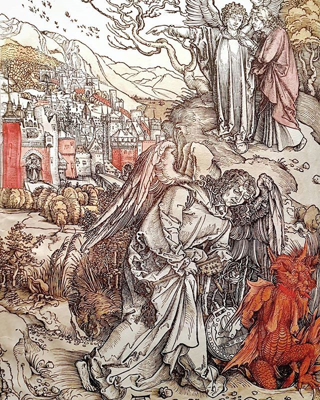 #AlbrechtDürer #TheAngelWithTheKeyToTheBottomlessPit #IllustratedBible #PrintingRevolution #MuseoCorrer @visitmuve #venice https://t.co/7WNOFZZmLX