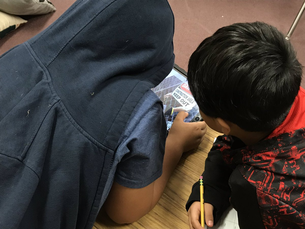 Students find and explore examples of functional text around the school <a target='_blank' href='http://search.twitter.com/search?q=KWBPride'><a target='_blank' href='https://twitter.com/hashtag/KWBPride?src=hash'>#KWBPride</a></a> <a target='_blank' href='https://t.co/j6pG2gzYca'>https://t.co/j6pG2gzYca</a>