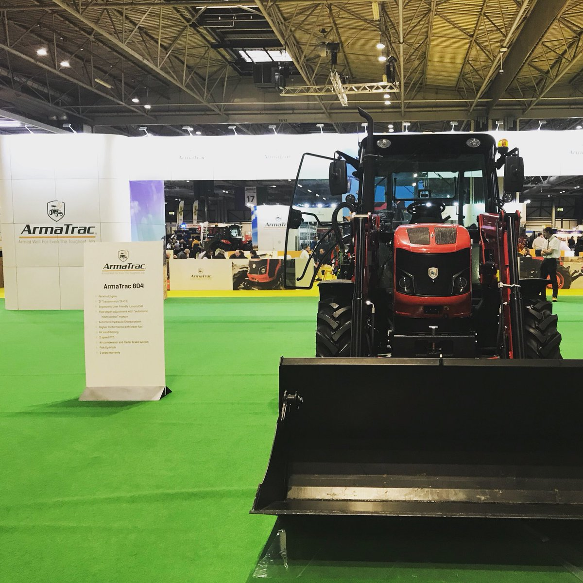 Great stand by @ArmaTrac from today at #LAMMA19. We think the show was superb!