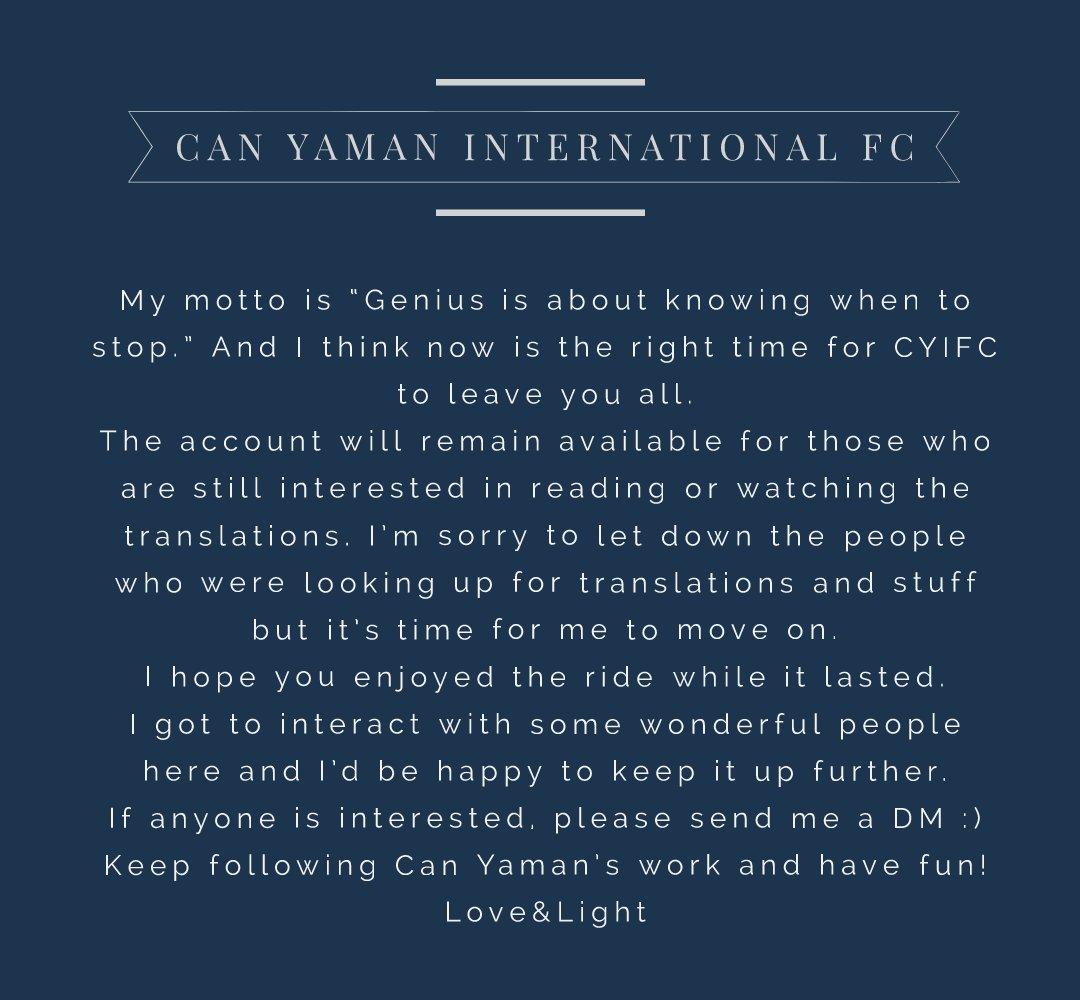 Can Yaman International FC (@yaman_fc) | Twitter