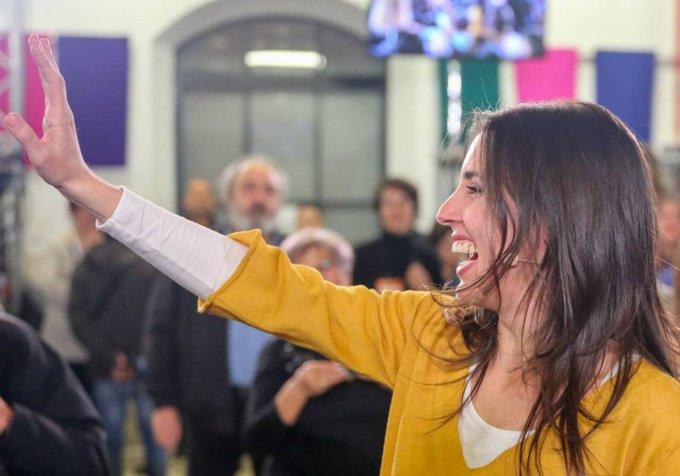 🎥 VÍDEO | Irene Montero reaparece con un mensaje a las mujeres andaluzas: Hay que parar a los trillizos reaccionarios Photo