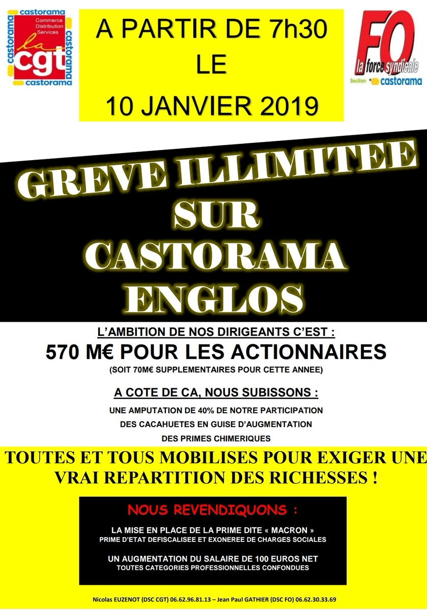LES LUTTES EN FRANCE vers la restructuration politique (Gilets jaunes) : les débats continués 17 déc.- mars 2019 DwfhkXrX0AAETVw