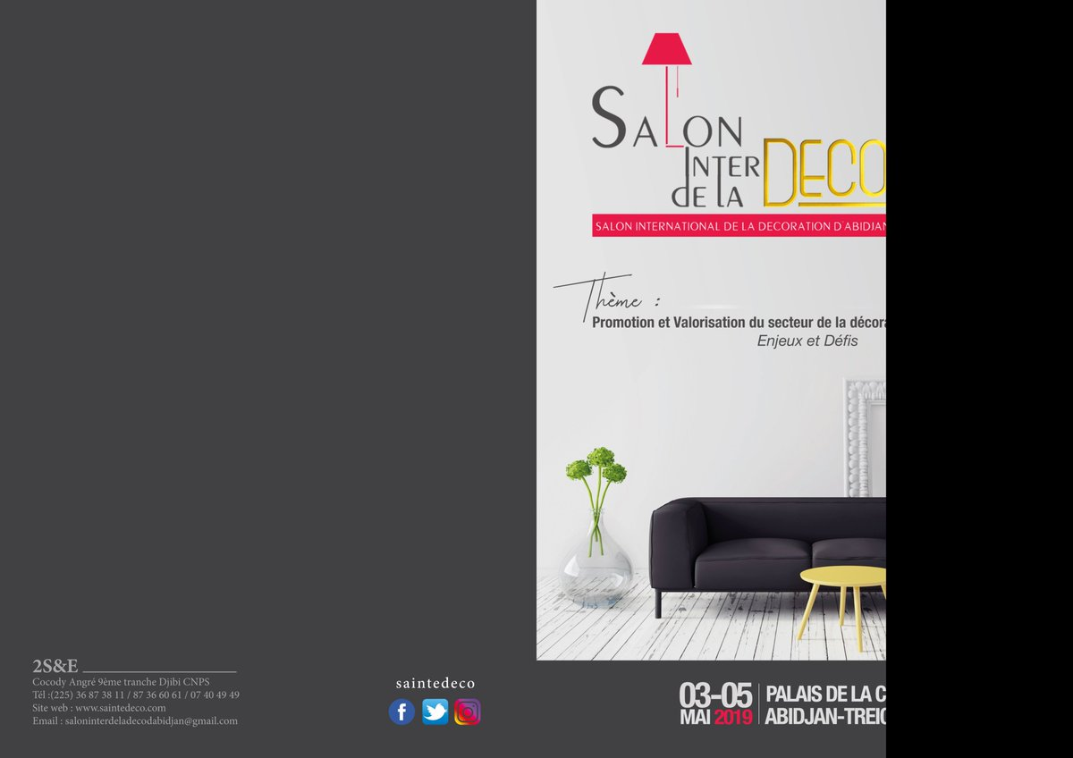Salon International De La Deco Saintedeco Twitter