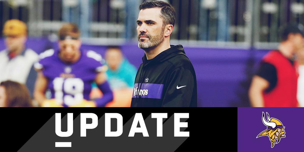 Kevin Stefanski expected to return to @Vikings as full-time OC: https://t.co/2gB2hHxcwM (via @RapSheet) https://t.co/Qpoi47XCjH