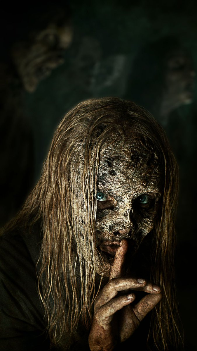 The Walking Dead On Twitter Upgrade Your Phone With Our Creepy