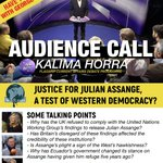 AUDIENCE CALL   If you have something to say on what's happening to #JulianAssange #wikileaks why not join @georgegalloway at the recording of flagship debate programme Kalima Horra?   Date: Wed 16 Jan 2019 - 7pm in our London studio  To take part email: yoursay@kalimahorra.com