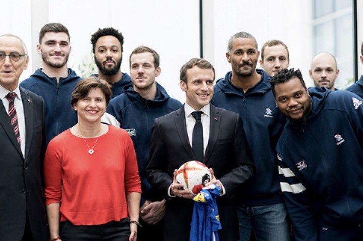 J'ai eu le plaisir d'assister à l'inauguration de la maison du #handball avec le Président de la République à Créteil. Un équipement d'élite, ouvert aux écoles, aux populations du territoire. Un bel exemple de ce que l'Etat, les élus, le mouvement sportif peuvent réussir ensemble