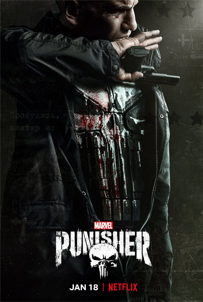 Trouble will find him one way or another. Trailer tomorrow. 💀 #ThePunisher