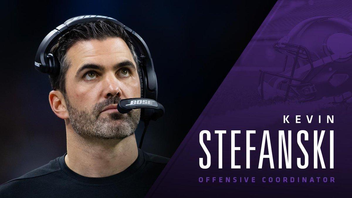 The #Vikings have named Kevin Stefanski offensive coordinator.   📰: https://t.co/ihTFTkXAq7