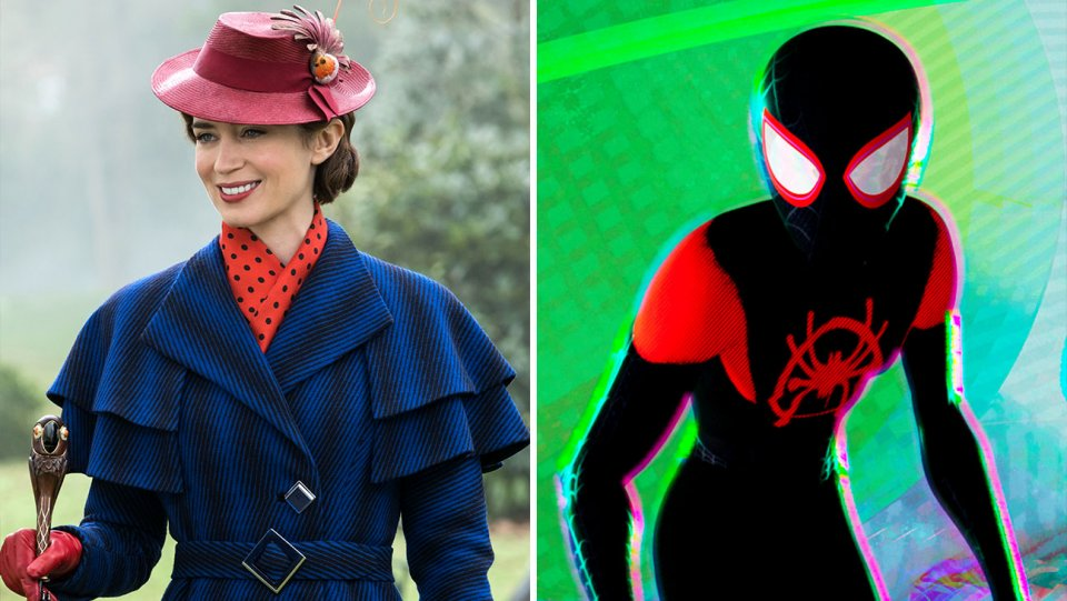 Exclusive: Movieguide Awards: #MaryPoppinsReturns, #SpiderVerse among nominees https://t.co/mck9AQln3f