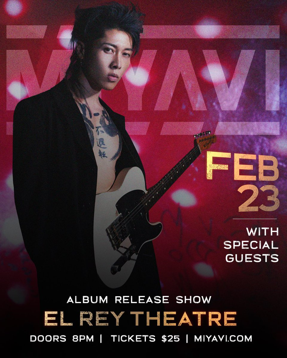 Miyavi Staff 公式 On Twitter Live Goldenvoice Presents