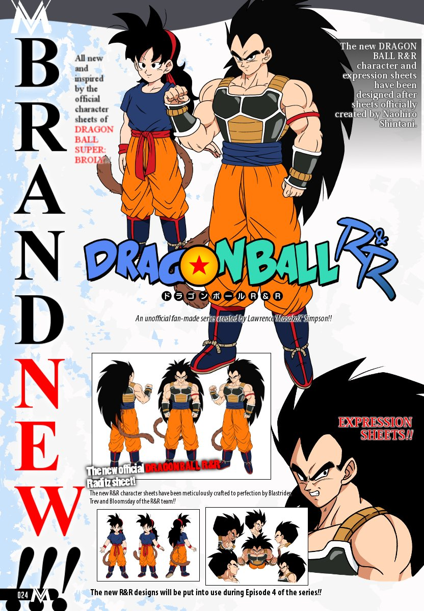 Lawrence Simpson On Twitter According To Dragonballrr Artists