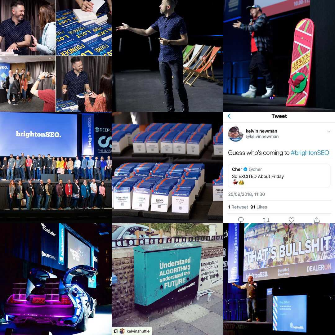 Oh hi there. Come follow us on Instagram. This is our #2018bestnine and 2019 will be even spanglier - http://www.instagram.com/brightonseo #brightonseopic.twitter.com/yvCZPwmNQv