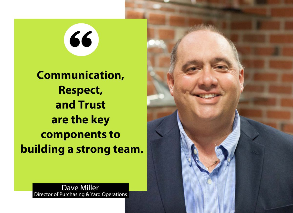 test Twitter Media - #WednesdayWisdom from our Director of Purchasing and Yard Operations, Dave Miller! https://t.co/uSsaociyTP