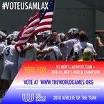 Image for the Tweet beginning: Vote for the @USLacrosse Men's