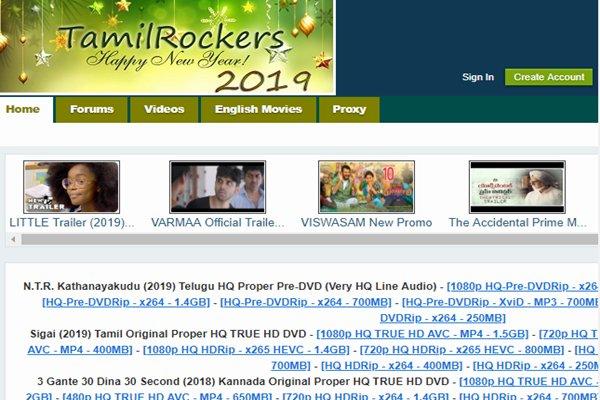 tamilrockers new links on JumPic com