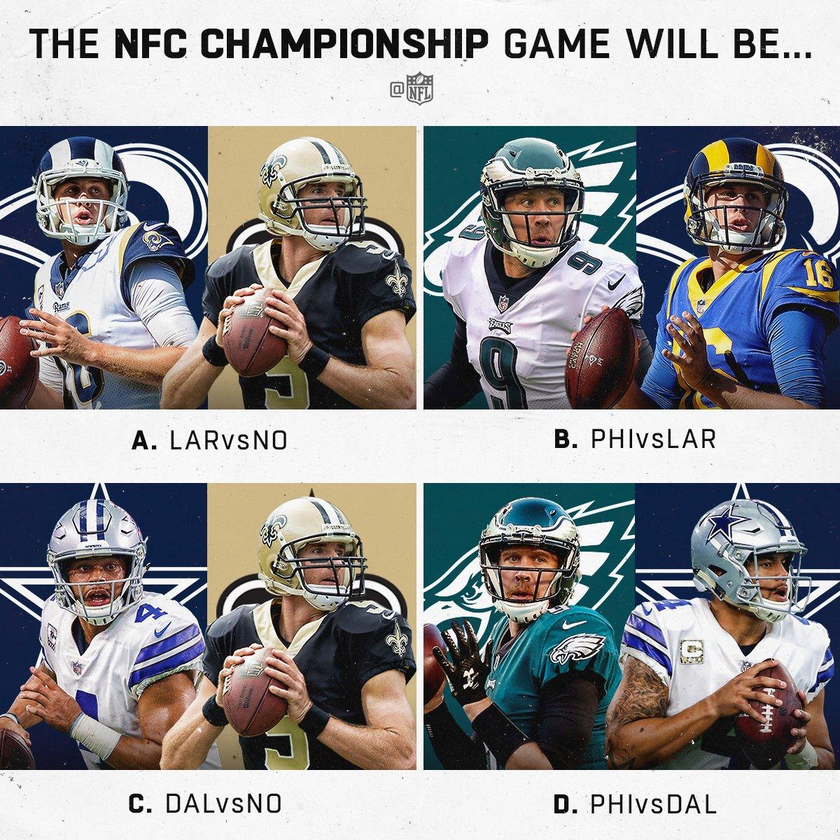 Hmmm... �� #NFLPlayoffs https://t.co/bzs5JjZ5Q1