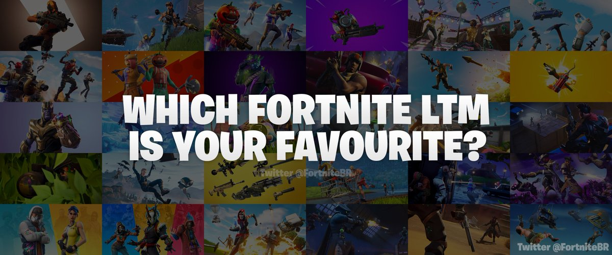 Fortnite News On Twitter Which Fortnite Ltm Is Your Favourite