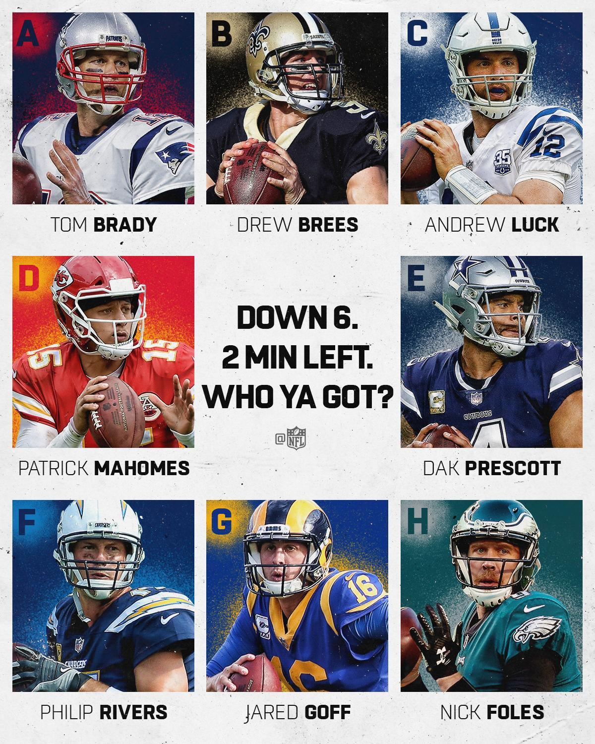 You can only pick one. ��  Choose wisely. #NFLPlayoffs https://t.co/ZBe2ES8km9