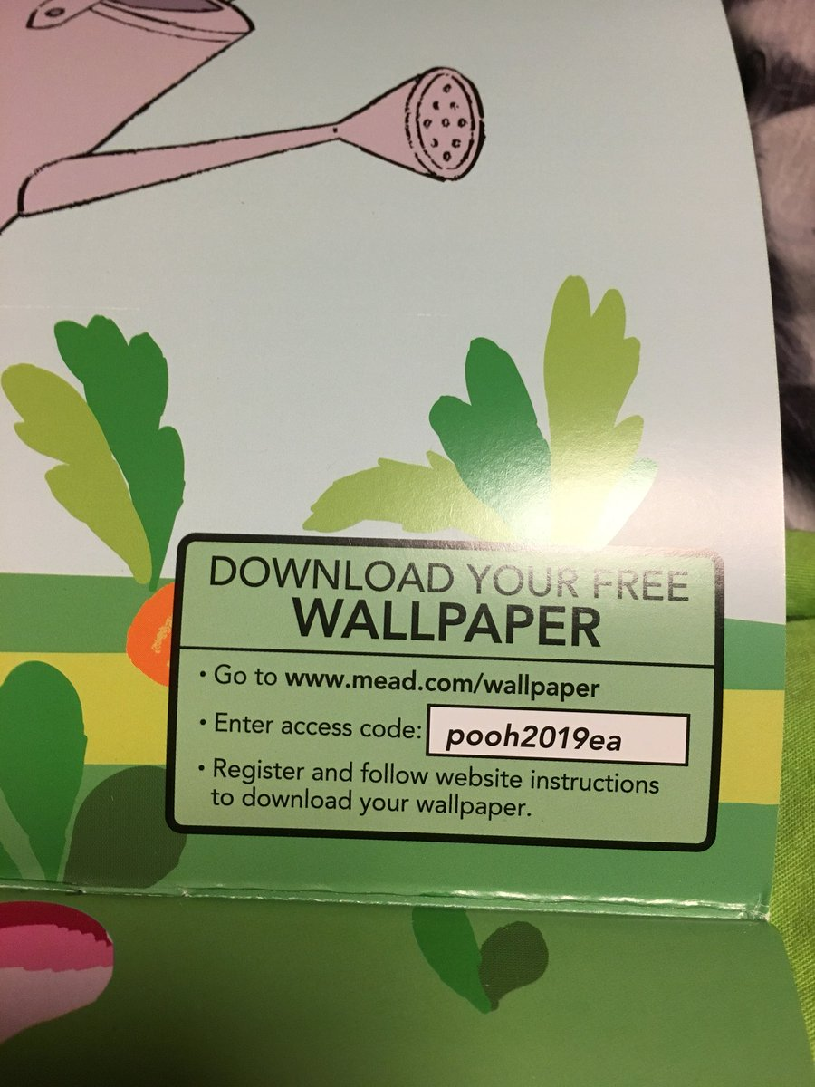 Nicole Walker On Twitter Meadfivestar Your Download Wallpaper Codes Aren T Working I Tried Downloading 2 Winnie The Pooh Wallpapers For My Iphone And Desktop And It Keeps Saying Invalid Code I Didn T