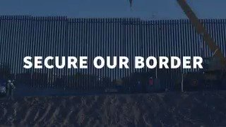 The crisis on the border is real. #SecureOurBorder