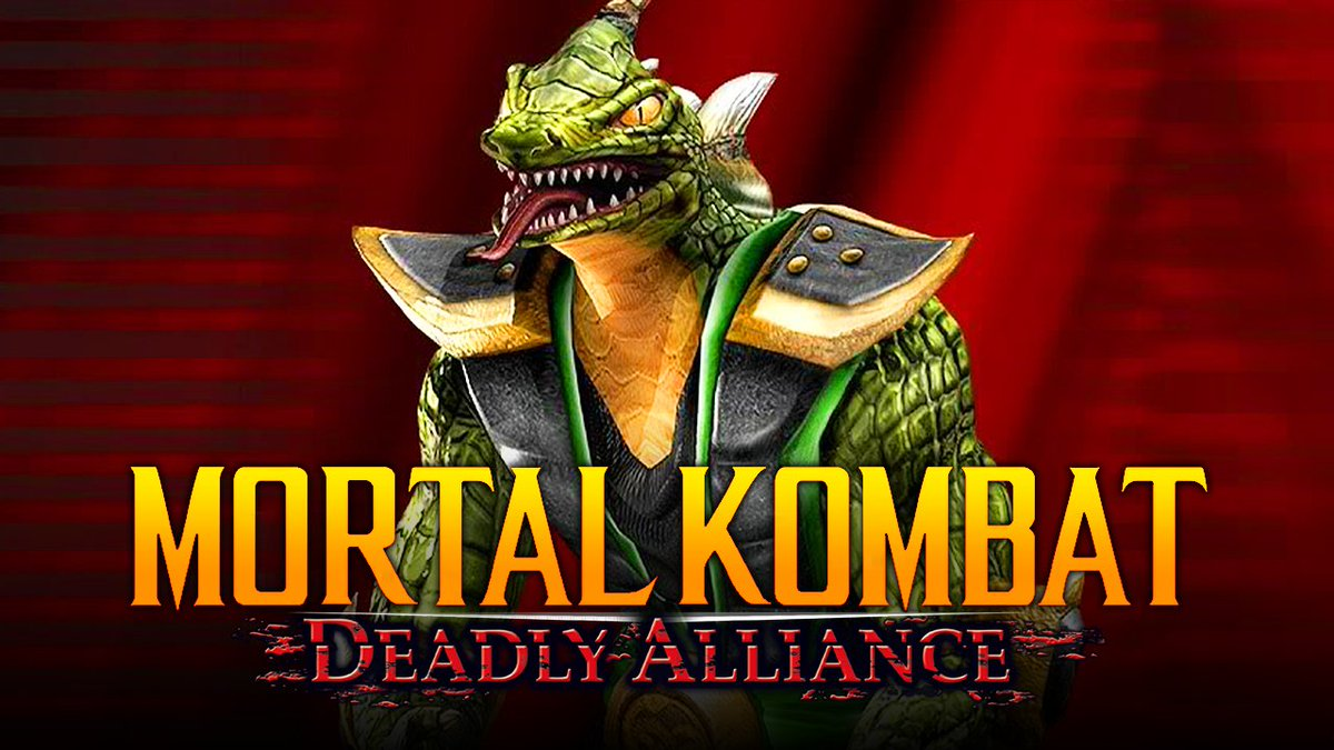 """THE WORST REPTILE EVER?! - MK Deadly Alliance: """""""