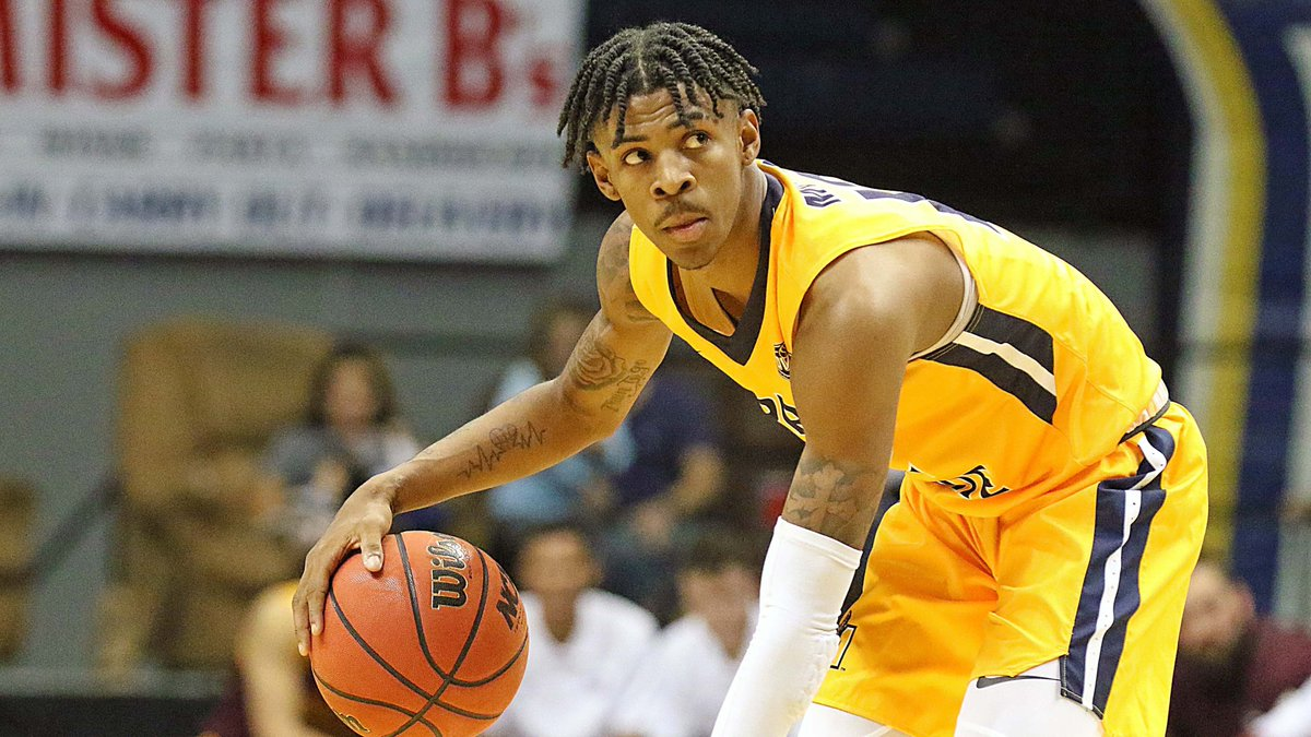 When I say that Ja Morant has been dunking on the Ohio Valley Conference this season I am not being metaphorical I dont mean that hes dominating