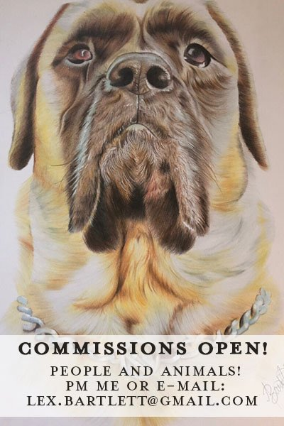 Hey guys! I currently have spaces available for commissions. :-) I'll probably just be taking 2-3, so please get in quick and let me know! ^_^ #art #portraits   You can either PM me here or e-mail me. 😊😊