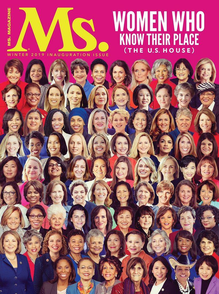 Ms. Magazine. 🙌