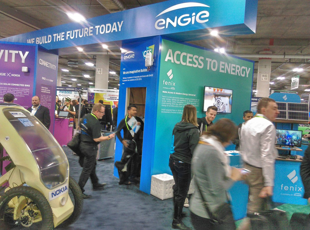 #ces Visite du stand @engie HomeBiogas : Turning organic waste into clean #energy https://t.co/69EeHtniLE