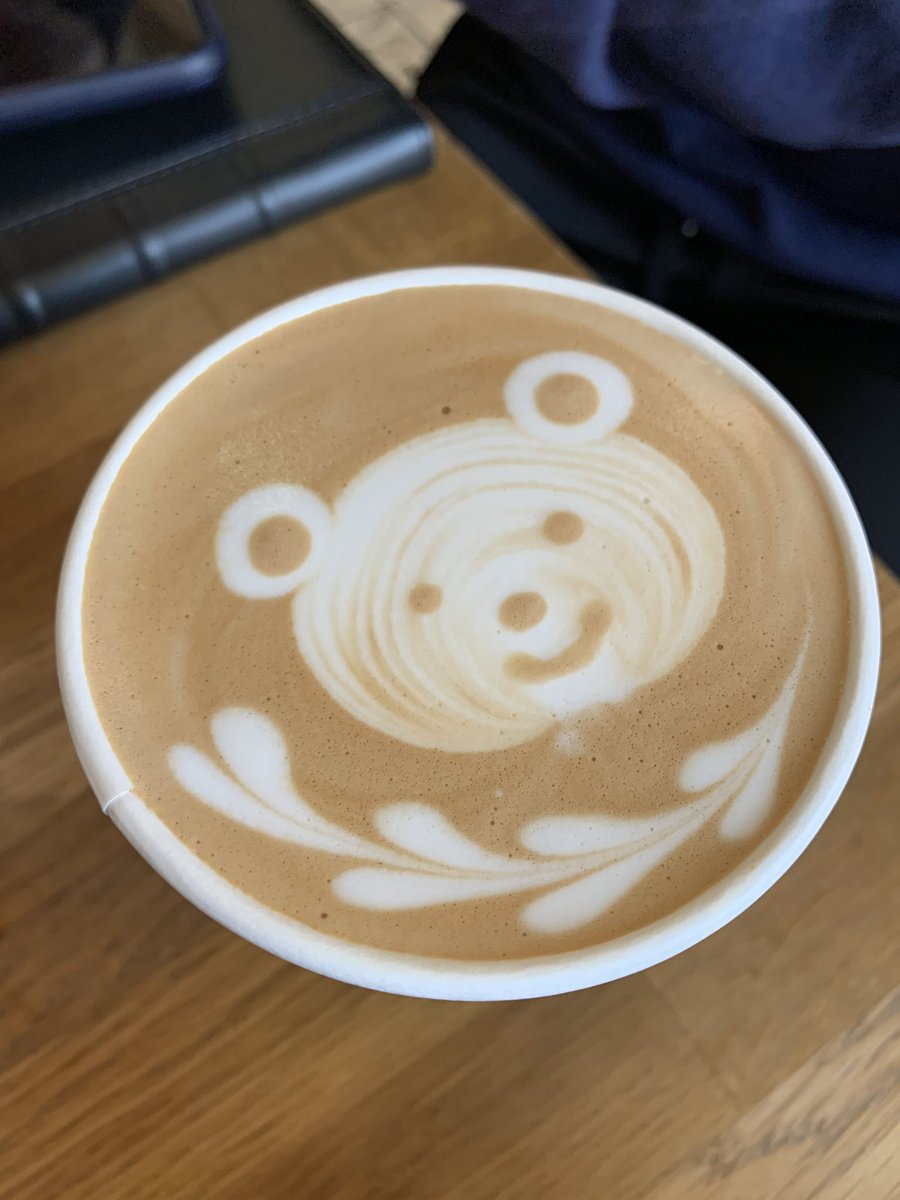 Replying to @cheunglindaa: I asked Vince to remake this latte I got today and he sent me this LMFAOOOOOOOO