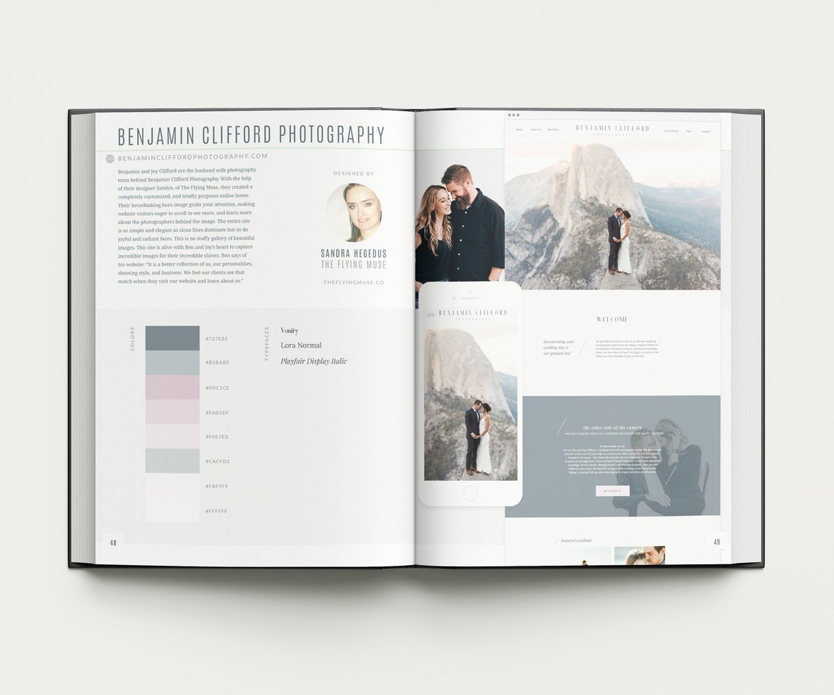 I'm so happy to share that one of my client sites has been featured and published in the Spark - Creative Inspiration Anthology 2019 Edition by @Showit. #showitdesigner #published #website