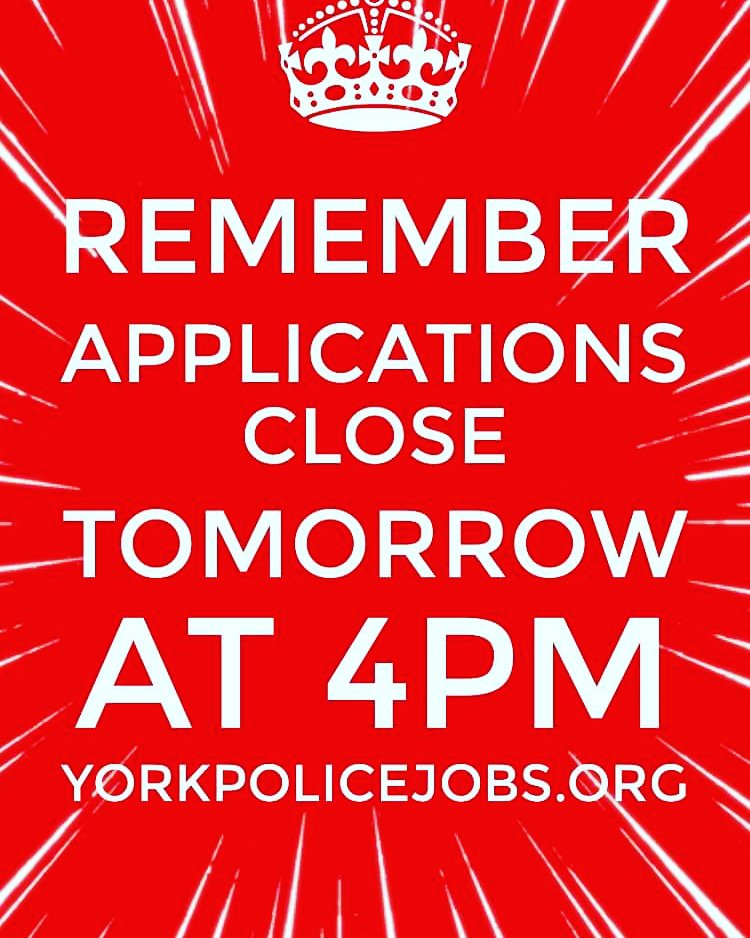 York Police Jobs (@YorkPoliceJobs) | Twitter