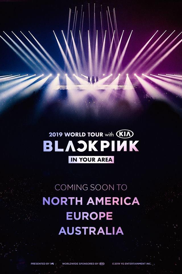 COMING SOON !   #blackpink #livenation #kpop #korea