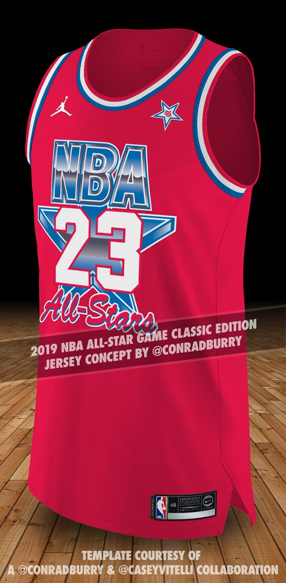 f20c938748f ... All-Star uniforms go with a classic design  Here s my concept to do  just that