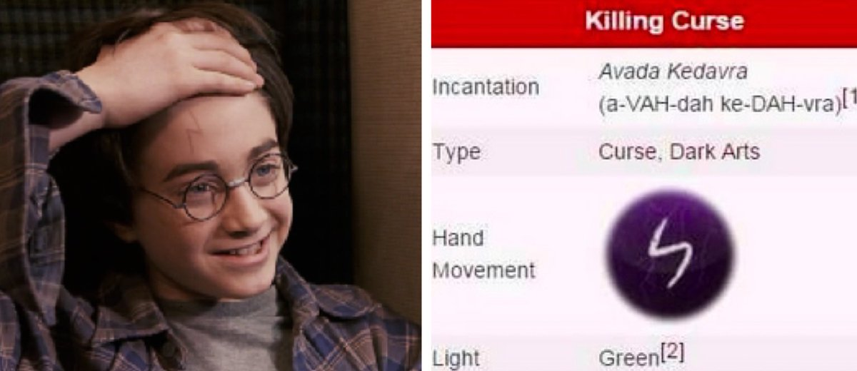Today Years Old On Twitter Did You Know Harry Potters Scar Isnt