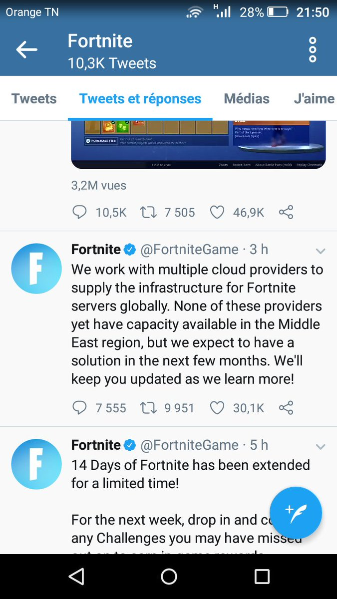 Fortnite North Africa Servers - @AfricaServers Twitter