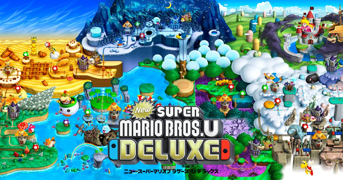 New スーパーマリオブラザーズ U デラックスに関する画像6