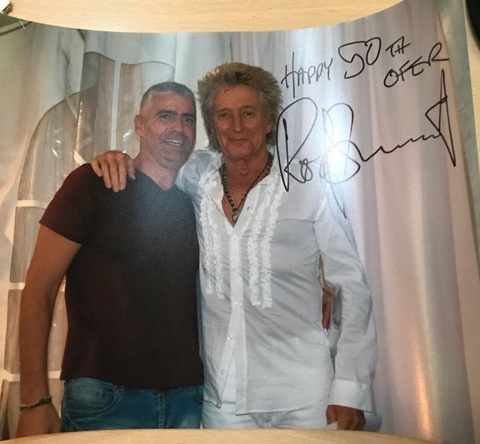 Happy birthday dear Rod Stewart- still the best and the greatest - for ever young
