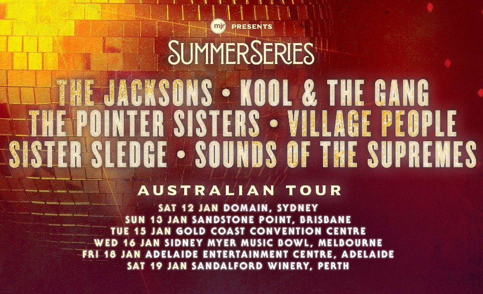 And then we're coming for you, Australia. Starting in Sydney  Saturday before taking the @sydsummerseries show on the road... https://t.co/mOjsuCBcSt